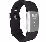 cheap -Watch Band for Fitbit Charge 2 Fitbit Wrist Strap Sport Band Classic Buckle Silicone