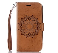 cheap -Case For LG G3 LG K8 LG LG K10 LG K7 LG G4 Card Holder Wallet with Stand Flip Embossed Full Body Cases Mandala Hard PU Leather for