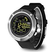 Недорогие -jsbp ex36 smart watch free перезаряжаемый открытый спортивный металлический циферблат номер напоминания ip67 водонепроницаемый