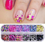 cheap -Sequins / Nail Glitter Sweet Style / Fashionable Jewelry / Classic Nail Art Design Daily
