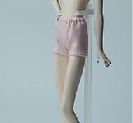 Недорогие -Брюки Шорты, брюки и колготки Для Кукла Барби Светло-Розовый Эластичный сатин Брюки Для Девичий игрушки куклы