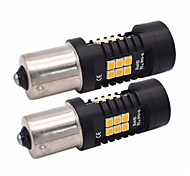 cheap -2pcs Light Bulbs 21W SMD LED 21 Turn Signal Light For universal All Models All years