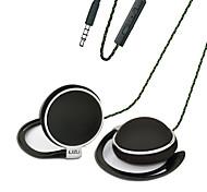cheap -LIZU TY906 Ear Hook Wired Headphones Dynamic Copper Mobile Phone Earphone with Microphone Headset