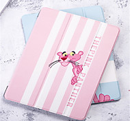 cheap -Case For Apple iPad Air 2 Wallet / Shockproof / Auto Sleep / Wake Up Full Body Cases Cartoon Hard PU Leather for