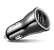 Недорогие -24w dual usb car charger 5v 4.8a умный выход для iphone x, iphone 8, ipad, samsung, lg, nexus, pixel, htc, xiaomi, bq и т. Д.