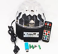 cheap -1set 16W 9 LEDs Remote Control / RC LED Stage Light / Spot Light RGB AC 100-240V