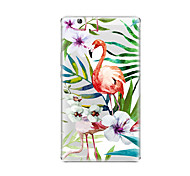 cheap -Case For Huawei Huawei MediaPad T3 8.0 Transparent Pattern Back Cover Flamingo Soft TPU for