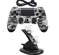 Недорогие -игровой контроллер джойстика джойстика джойстика джойстика игровой контроллер с двойным зарядным устройством для ps4