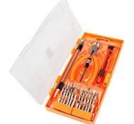Недорогие -40 в 1 прецизионный комплект отверток 36 бит с плоскогубцами инструмент для обслуживания ноутбуков инструмент для ремонта мобильных
