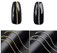 Недорогие -1pcs Гель для ногтей Отделка и украшения металлический Одежда в стиле Панк Дизайн ногтей