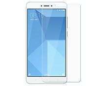 preiswerte -Displayschutzfolie XIAOMI für Xiaomi Redmi Note 4 PET 1 Stück Vorderer Bildschirmschutz Kratzfest Ultra dünn Explosionsgeschützte