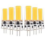 cheap -YWXLIGHT® 6pcs 5W 400-500lm G4 LED Bi-pin Lights T 1 LED Beads COB Decorative Warm White Cold White 12V 12-24V