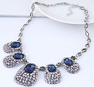 cheap -Women's Rhinestone Statement Necklace - Vintage Fashion European Geometric Necklace For Party