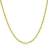 cheap -Men's Women's Chain Necklace  -  Fashion Rock Circle Gold Necklace For Gift Daily