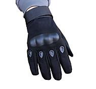 abordables -Dedos completos Unisex Guantes de moto Fibra de carbon Fibra Listo para vestir Antideslizante Transpirabilidad