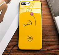 economico -Custodia Per Apple iPhone 6 Plus iPhone 7 Plus Fantasia/disegno Per retro Cartoni animati Morbido TPU per iPhone 8 Plus iPhone 8 iPhone 7