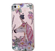 economico -Custodia per apple ipod touch5 / 6 cover case alta penetrazione polvere imd unicorn custodia morbida per telefono tpu