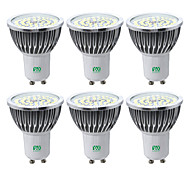 cheap -YWXLIGHT® 6pcs 7W 600-700lm GU10 LED Spotlight 48 LED Beads SMD 2835 Warm White Cold White Natural White