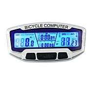 cheap -SD-558A Bike Computer / Bicycle Computer Stopwatch Backlight LCD Display Speedometer Wired Odometer Outdoor Cycling