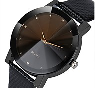 cheap -Men's Women's Quartz Unique Creative Watch Dress Watch Fashion Watch Chinese Chronograph Casual Watch Alloy PU Band Elegant Fashion Black