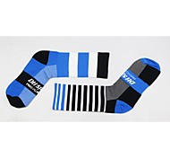 Недорогие -Спортивные носки / спортивные носки Велоспорт Носки Универсальные Анатомический дизайн / Эластичный / Антибактериальный 1 пара Весна,