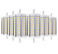 cheap -YWXLIGHT® 6pcs 8W 700-800lm R7S LED Corn Lights 48 LED Beads SMD 5730 Warm White Cold White 110-130V 220-240V