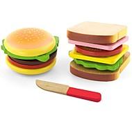 Недорогие -Игрушечная еда и всё для кухни Игрушки Семья Взаимодействие родителей и детей утонченный деревянный Детские Подарок