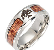 cheap -Men's Band Ring - Tree of Life Fashion For Daily