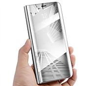 cheap -Case For Samsung Galaxy Note 8 with Stand Mirror Flip Auto Sleep/Wake Up Full Body Cases Solid Color Hard PU Leather for Note 8 Note 5