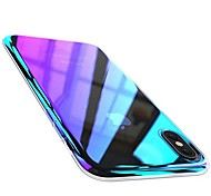 cheap -Case For Apple iPhone X iPhone 8 Plus Plating Back Cover Color Gradient Hard PC for iPhone X iPhone 8 Plus iPhone 8 iPhone 7 Plus iPhone