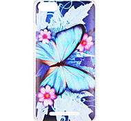 cheap -Case For Wiko U Feel Lite Pulp Fab 4G Pattern Back Cover Butterfly Flower Soft TPU for Wiko U Feel Lite Wiko U Feel Wiko Sunny Wiko Robby