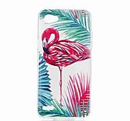 cheap -Case For LG V30 Q6 Pattern Back Cover Flamingo Soft TPU for LG X Style LG X Power LG V30 LG Q6 LG K10 LG K8
