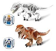 Недорогие -LELE Конструкторы Динозавр Животные Животные Игрушки Игрушки Подарок