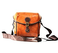cheap -One-Shoulder Camera Bag Camera Bags PU Leather