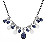 cheap -Women's Crystal Statement Necklace - Casual Statement Drop Necklace For Holiday Date