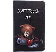 Недорогие -Кейс для Назначение SSamsung Galaxy Tab A 10.1 (2016) Бумажник для карт Кошелек со стендом С узором Авто Режим сна / Пробуждение Чехол