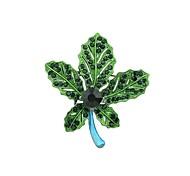 Недорогие -Жен. В форме листа Броши - Классический / Мода Зеленый / Синий / Разные цвета Брошь Назначение Повседневные / Свидание