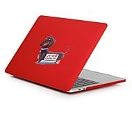 """Недорогие -MacBook Кейс для С собакой пластик Новый MacBook Pro 15"""" / Новый MacBook Pro 13"""" / MacBook Pro, 15 дюймов"""