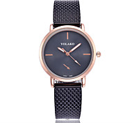cheap -Women's Quartz Fashion Watch Chinese Casual Watch Plastic Band Minimalist Colorful Black White Red Gold Pink Yellow Rose