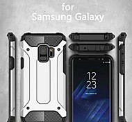 cheap -Case For Samsung Galaxy S9 S9 Plus Armor Back Cover Armor Hard Metal for S9 Plus S9 S8 Plus S8 S7 edge S7