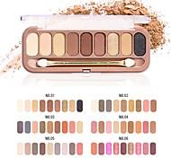 Недорогие -Makeup 6pcs Тени для век Pro Комбинация Тени / Тени для век Waterproof Цветной Смоки айс / Макияж для вечеринки / Макияж на Хэллоуин