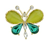 cheap -Women's Butterfly Brooches - Basic / Fashion Green Brooch For Daily / Date