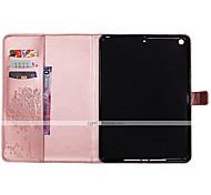 abordables -Funda Para Apple iPad 4/3/2 iPad Air 2 iPad Air Soporte de Coche Cartera con Soporte Flip En Relieve Funda de Cuerpo Entero Gato Mariposa