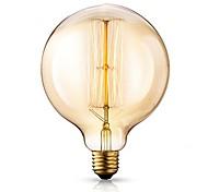 cheap -1pc 40W E26/E27 G125 Warm White 2200-2700k K Retro Dimmable Decorative Incandescent Vintage Edison Light Bulb 220-240V