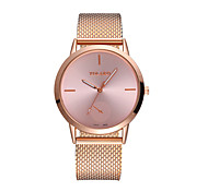 cheap -Men's Women's Quartz Casual Watch Chinese Large Dial Plastic Band Minimalist Fashion Black Silver Gold Rose Gold