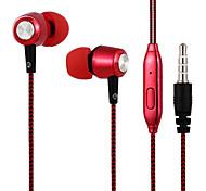 abordables -31ALS3B01 Dans l'oreille Fil Ecouteurs Dynamique Acryic / Polyester Sport & Fitness Écouteur Casque