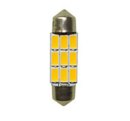 cheap -36mm Car Light Bulbs 3W SMD 5730 180-220lm 6 LED Interior Lights For universal