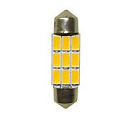 Недорогие -36mm Автомобиль Лампы 3W SMD 5730 180-220lm 6 Светодиодная лампа Внутреннее освещение For Универсальный