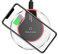 cheap -Wireless Charger USB Charger USB 1 USB Port 1 A DC 5V iPhone X / iPhone 8 Plus / iPhone 8