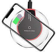Недорогие -Беспроводное зарядное устройство Зарядное устройство USB USB 1 USB порт 1 A DC 5V iPhone X / iPhone 8 Pluss / iPhone 8